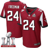 Atlanta Falcons Devonta Freeman Nike Red Super Bowl LI Bound Game Jersey