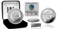 Golden State Warriors 2017 NBA Finals Champions Pure Silver Mint Coin LE 1,000
