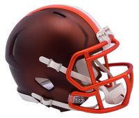 Cleveland Browns NFL Blaze Revolution Speed Riddell Mini Football Helmet