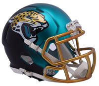 Jacksonville Jaguars NFL Blaze Revolution Speed Riddell Mini Football Helmet