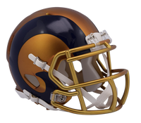 Los Angeles Rams NFL Blaze Revolution Speed Riddell Mini Football Helmet