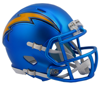 Los Angeles Chargers NFL Blaze Revolution Speed Riddell Mini Football Helmet