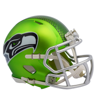 Seattle Seahawks NFL Blaze Revolution Speed Riddell Mini Football Helmet