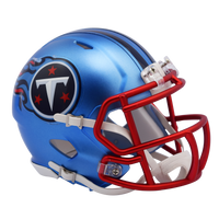 Tennessee Titans NFL Blaze Revolution Speed Riddell Mini Football Helmet