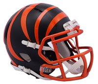 Cincinnati Bengals Blaze Revolution Speed Riddell Mini Football Helmet