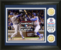 Los Angeles Dodgers 2017 NLCS MVP Bronze Coin Photo Mint