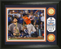 "Houston Astros 2017 World Series ""MVP"" Bronze Coin Photo Mint Framed LE 5000"