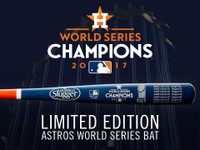 Houston Astros 2017 MLB World Series Champions Louisville Slugger Commemorative Bat LE 2017