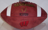 Wisconsin Badgers Official CFP Wilson Leather Football