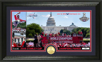 "Washington Capitals 2018 NHL Stanley Cup Champions ""Parade"" Gold Coin Photo Mint LE 5,000"