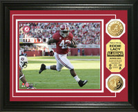 Eddie Lacy University of Alabama Gold Coin Photo Mint