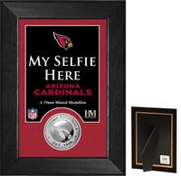 Arizona Cardinals Selfie Minted Coin Mini Mint