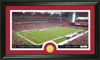 Arizona Cardinals Stadium Bronze Coin Panoramic Photo Mint