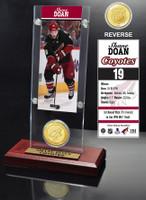 Shane Doan Ticket and Bronze Coin Desktop Acrylic