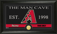 Arizona Diamondbacks Man Cave Bronze Coin Photo Mint
