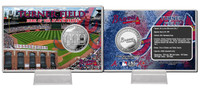 Turner Field Silver Coin Card