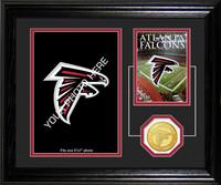 Atlanta Falcons Framed Memories Desktop Photo Mint