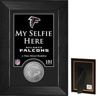 Atlanta Falcons Selfie Minted Coin Mini Mint