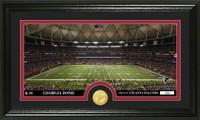 Atlanta Falcons Stadium Bronze Coin Panoramic Photo Mint