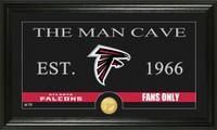 Atlanta Falcons Man Cave Bronze Coin Panoramic Photo Mint