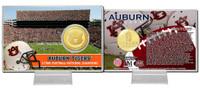 Auburn University  Bronze Coin Card