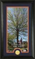 Auburn Oaks Dedication Supreme Bronze Coin Panoramic Photo Mint