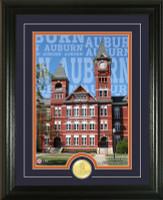Auburn University Campus Traditions Bronze Coin Photo Mint