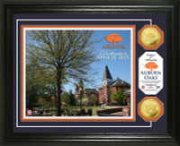 Auburn Oaks Dedication Gold Coin Photo Mint