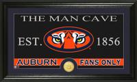 Auburn University Man Cave Bronze Coin Panoramic Photo Mint