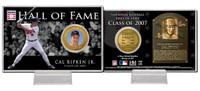 Cal Ripken Jr. Class of 2007 Hall of Fame Bronze Coin Card