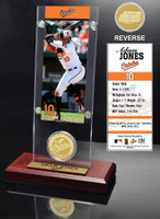Adam Jones Ticket & Minted Coin Acrylic Desk Top