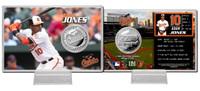 Adam Jones Silver Coin Card