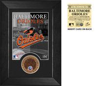 Baltimore Orioles Dirt Coin Mini Mint