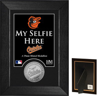 Baltimore Orioles Selfie Minted Coin Mini Mint