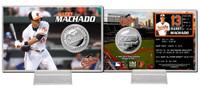 Manny Machado Silver Coin Card