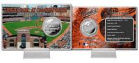 Orioles Park Silver Coin Card
