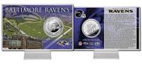 Baltimore Ravens Silver Coin Card