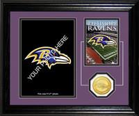 Baltimore Ravens Framed Memories Desktop Photo Mint