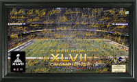 Baltimore Ravens Super BowlxLVII Champions Celebration Signature Gridiron