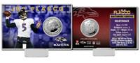 Joe Flacco Silver Coin Card