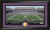 Baltimore Ravens Stadium Bronze Coin Panoramic Photo Mint