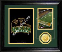 Baylor University Fan Memories Bronze Coin Desktop Photo Mint