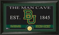 Baylor University Man Cave Bronze Coin Panoramic Photo Mint