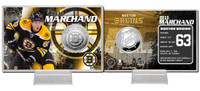 Brad Marchand Silver Coin Card