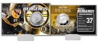 Patrice Bergeron Silver Coin Card