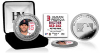Dustin Pedroia Silver Color Coin