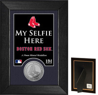 Boston Red Sox Selfie Minted Coin Mini Mint