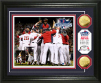 Boston Red Sox 2013 World Series Champions Gold Coin Photo Mint