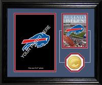 Buffalo Bills Framed Memories Desktop Photo Mint
