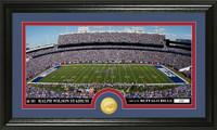 Buffalo Bills Stadium Bronze Coin Panoramic Photo Mint